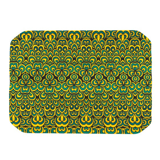 "Pom Graphic Design ""Animal Temple II"" Place Mat - KESS InHouse"