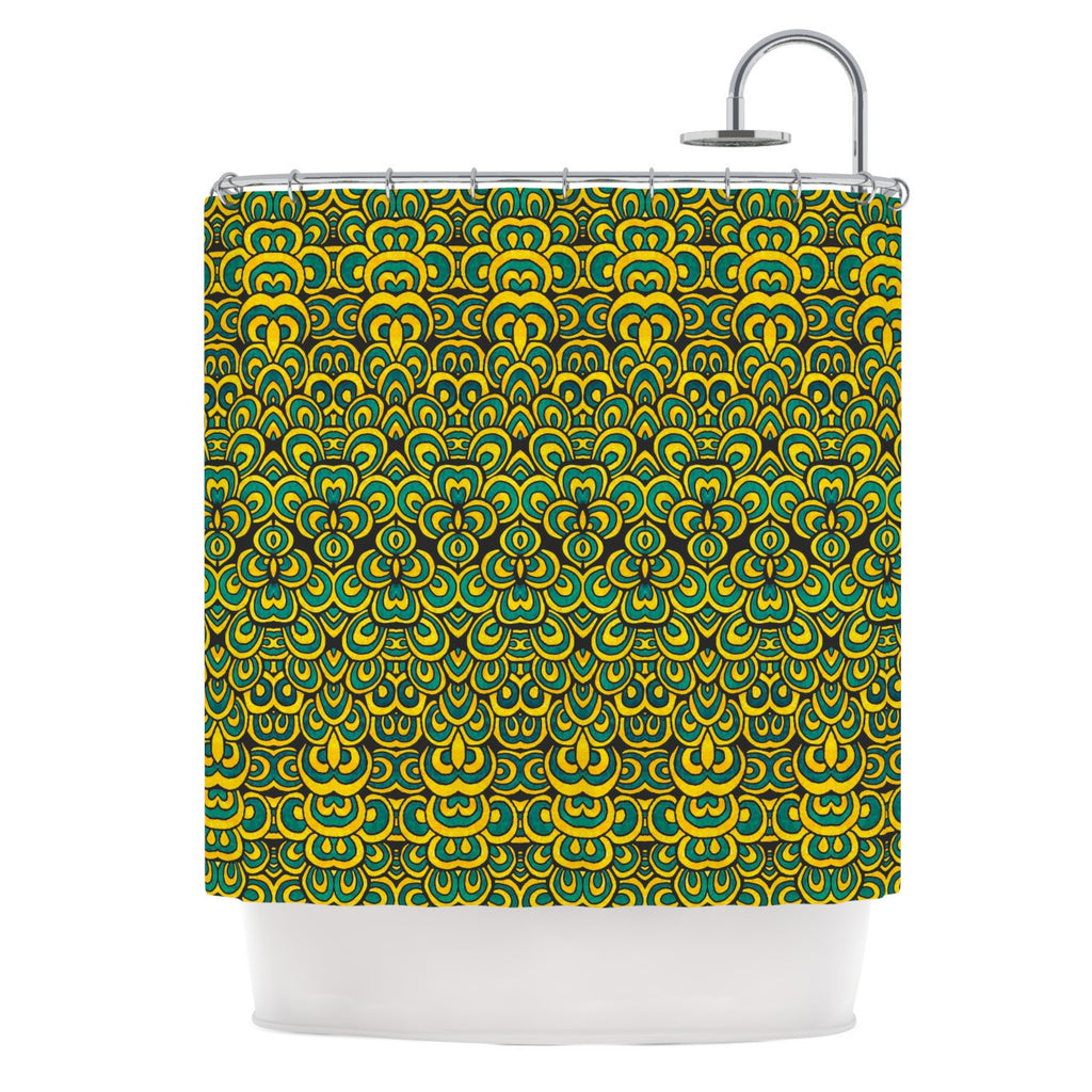 "Pom Graphic Design ""Animal Temple II"" Shower Curtain - KESS InHouse"
