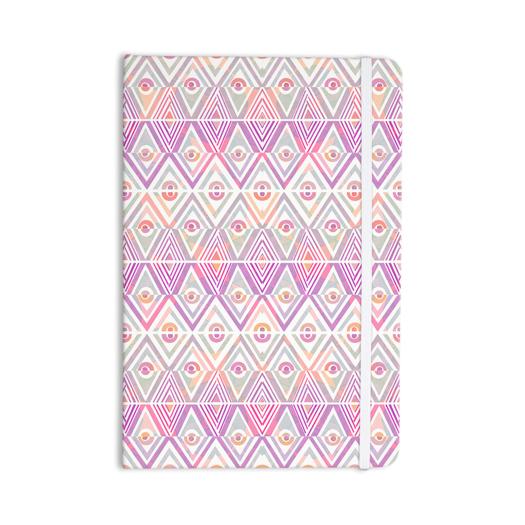 "Pom Graphic Design ""Soft Petal Tribal"" Everything Notebook - KESS InHouse  - 1"