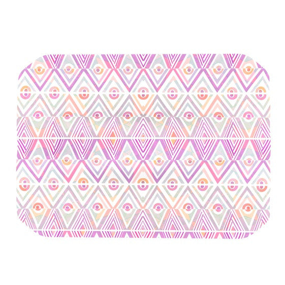 "Pom Graphic Design ""Soft Petal Tribal"" Place Mat - KESS InHouse"