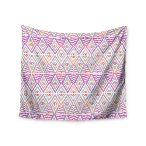 "Pom Graphic Design ""Soft Petal Tribal"" Wall Tapestry - KESS InHouse  - 1"