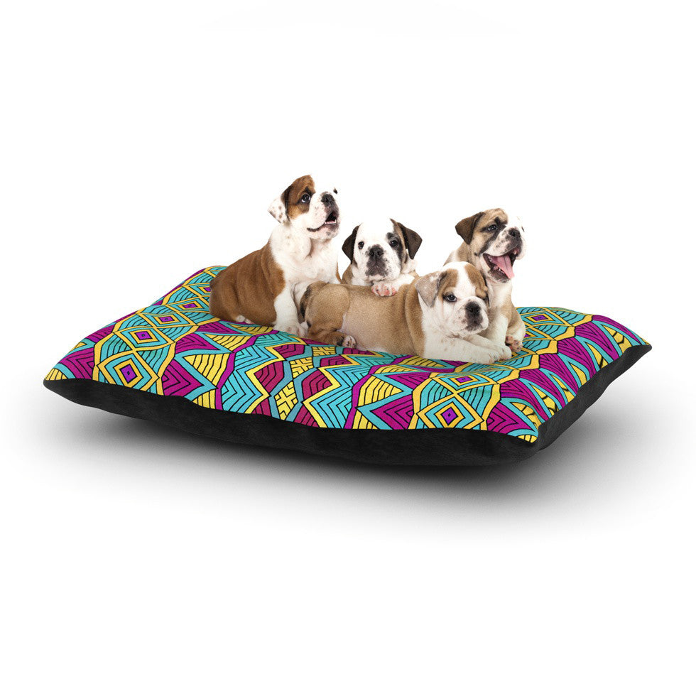 "Pom Graphic Design ""Tribal Soul II"" Dog Bed - KESS InHouse  - 1"