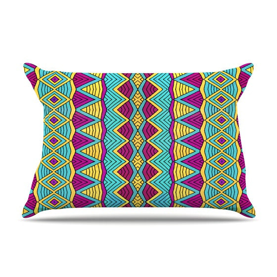 "Pom Graphic Design ""Tribal Soul II"" Pillow Sham - KESS InHouse"