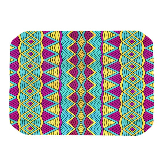 "Pom Graphic Design ""Tribal Soul II"" Place Mat - KESS InHouse"