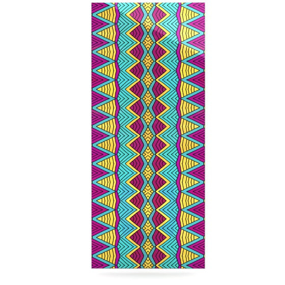 "Pom Graphic Design ""Tribal Soul II"" Luxe Rectangle Panel - KESS InHouse  - 1"