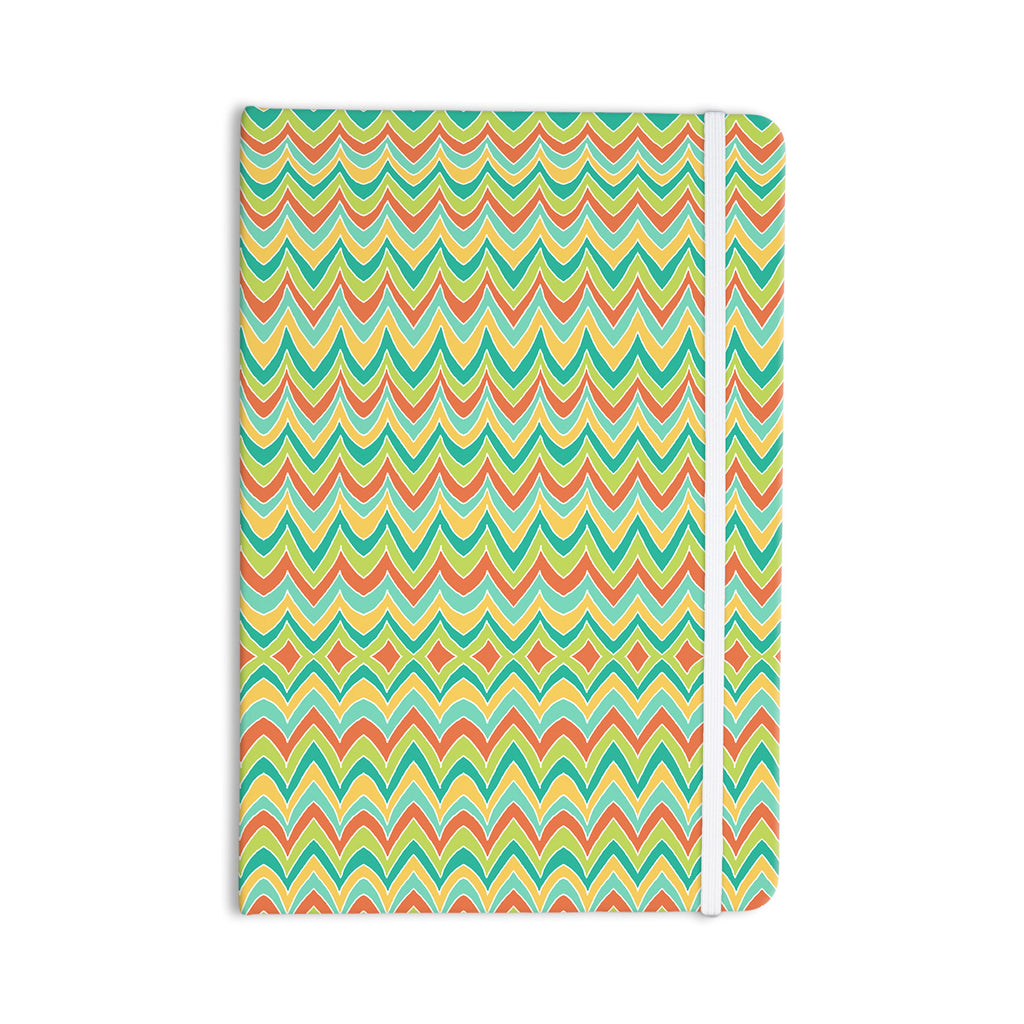 "Pom Graphic Design ""Bright and Bold"" Everything Notebook - KESS InHouse  - 1"