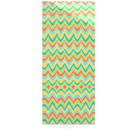"Pom Graphic Design ""Bright and Bold"" Luxe Rectangle Panel - KESS InHouse  - 1"