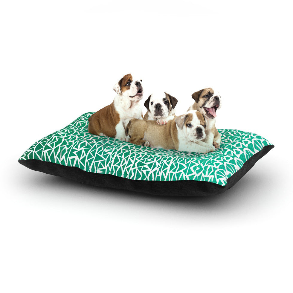 "Pom Graphic Design ""Tribal Forrest"" Dog Bed - KESS InHouse  - 1"