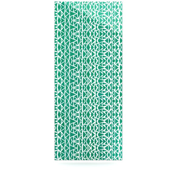"Pom Graphic Design ""Tribal Forrest"" Luxe Rectangle Panel - KESS InHouse  - 1"