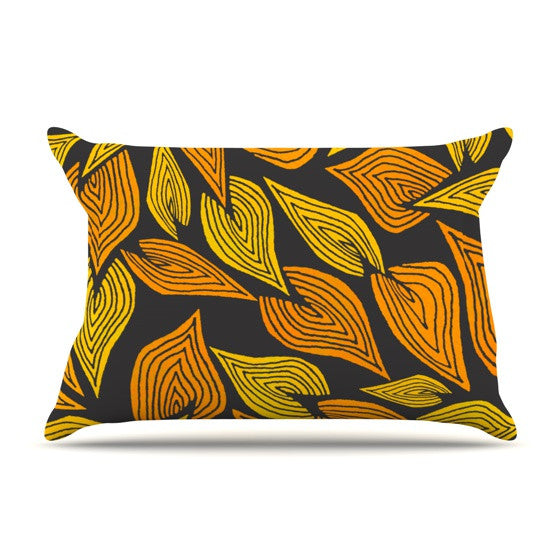 "Pom Graphic Design ""Autumn II"" Pillow Sham - KESS InHouse"