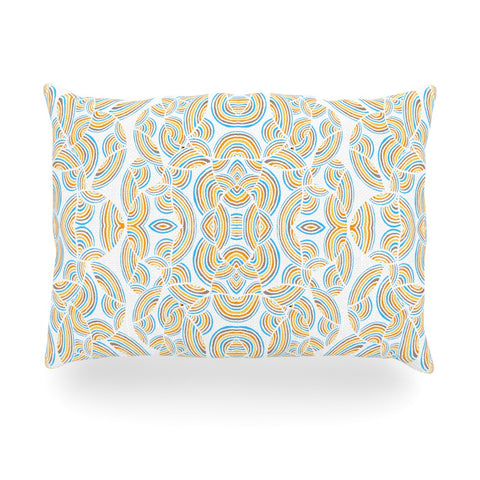 "Pom Graphic Design ""Infinite Thoughts"" Oblong Pillow - KESS InHouse"