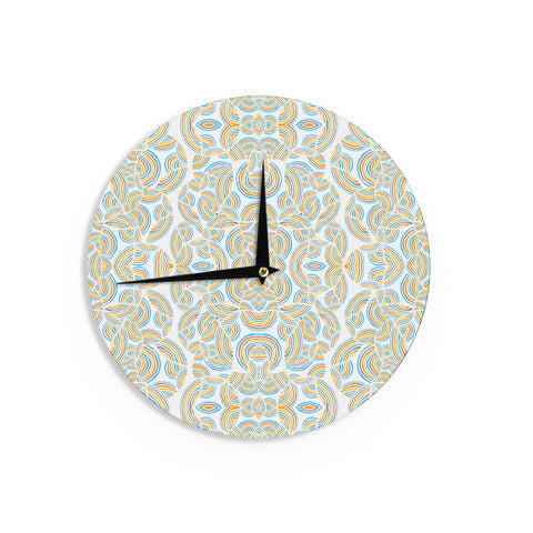 "Pom Graphic Design ""Infinite Thoughts"" Wall Clock - KESS InHouse"
