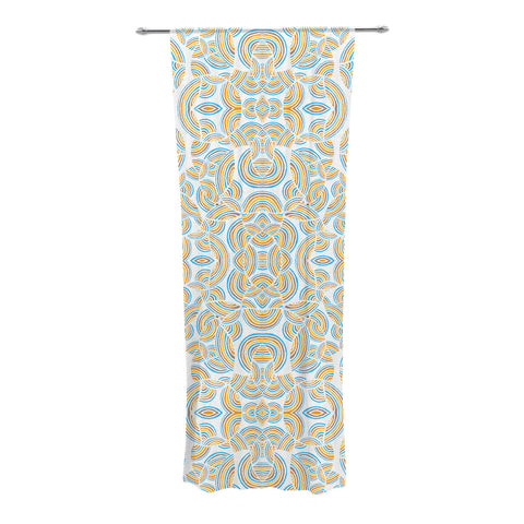 "Pom Graphic Design ""Infinite Thoughts"" Decorative Sheer Curtains - KESS InHouse"