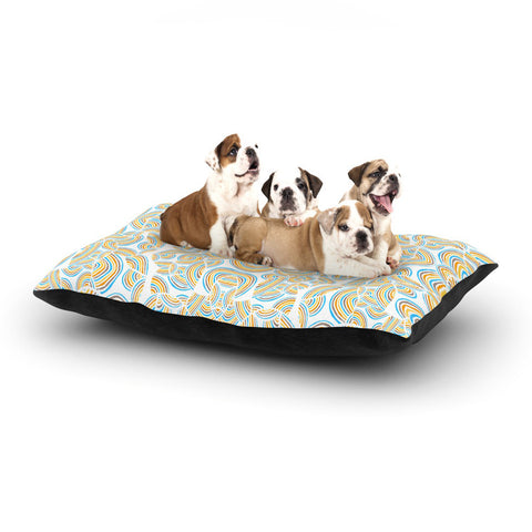 "Pom Graphic Design ""Infinite Thoughts"" Dog Bed - KESS InHouse  - 1"