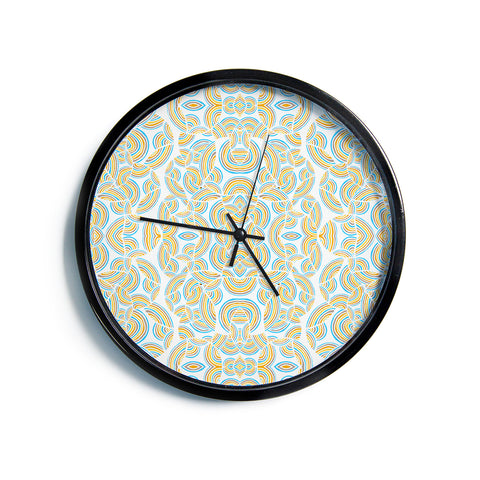 "Pom Graphic Design ""Infinite Thoughts""  Modern Wall Clock"