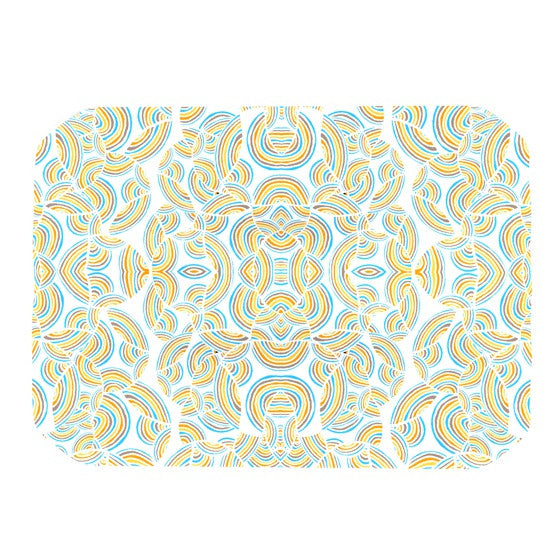 "Pom Graphic Design ""Infinite Thoughts"" Place Mat - KESS InHouse"