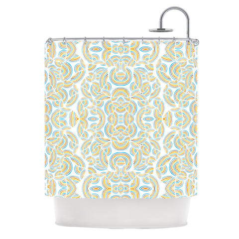 "Pom Graphic Design ""Infinite Thoughts"" Shower Curtain - KESS InHouse"