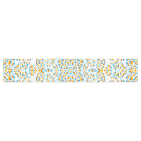 "Pom Graphic Design ""Infinite Thoughts"" Table Runner - KESS InHouse  - 1"