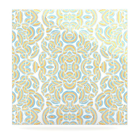 "Pom Graphic Design ""Infinite Thoughts"" Luxe Square Panel - KESS InHouse  - 1"