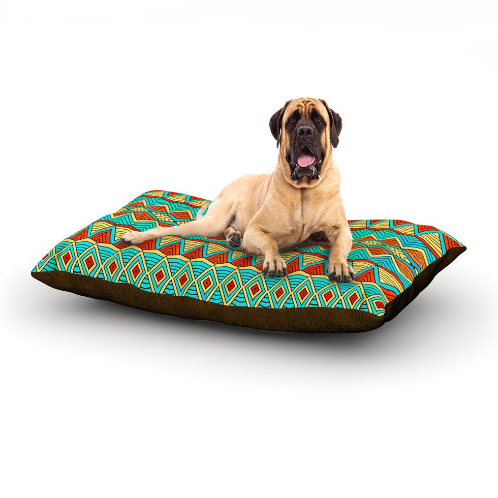 "Pom Graphic Design ""Tribal Soul"" Dog Bed - KESS InHouse"