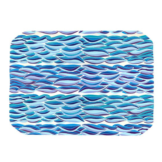 "Pom Graphic Design ""The High Sea"" Place Mat - KESS InHouse"
