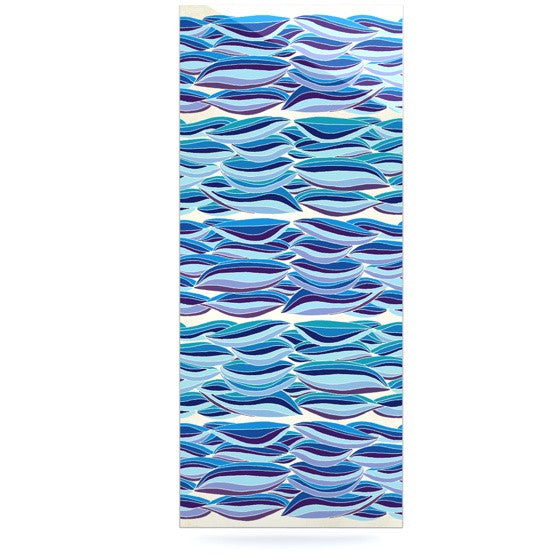 "Pom Graphic Design ""The High Sea"" Luxe Rectangle Panel - KESS InHouse  - 1"