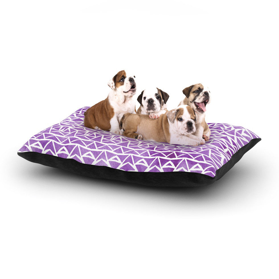 "Pom Graphic Design ""Tribal Mosaic"" Dog Bed - KESS InHouse  - 1"