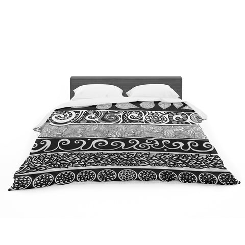 "Pom Graphic Design ""Tribal Evolution"" Featherweight Duvet - Outlet Item"