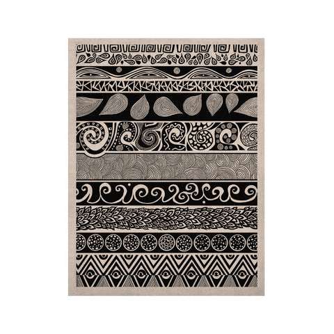 "Pom Graphic Design ""Tribal Evolution"" KESS Naturals Canvas (Frame not Included) - KESS InHouse  - 1"