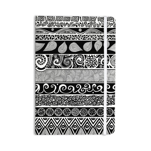 "Pom Graphic Design ""Tribal Evolution"" Everything Notebook - KESS InHouse  - 1"