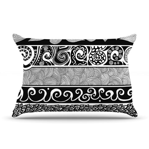 "Pom Graphic Design ""Tribal Evolution"" Pillow Sham - KESS InHouse"