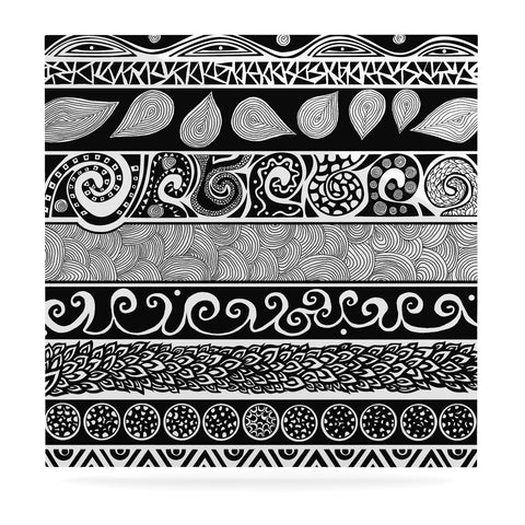 "Pom Graphic Design ""Tribal Evolution"" Luxe Square Panel"