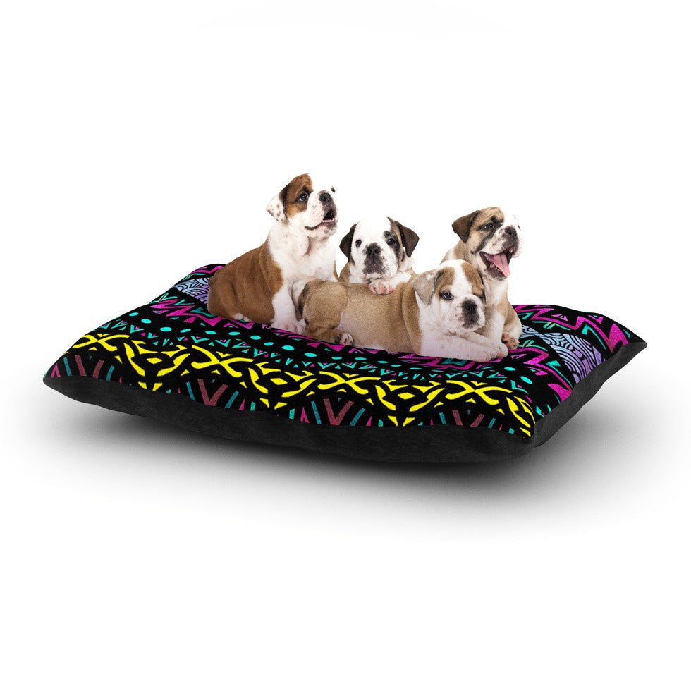 "Pom Graphic Design ""Tribal Dominance"" Dog Bed - KESS InHouse  - 1"