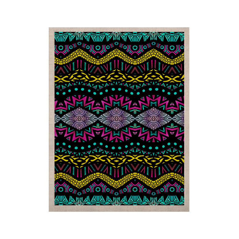 "Pom Graphic Design ""Tribal Dominance"" KESS Naturals Canvas (Frame not Included) - KESS InHouse  - 1"