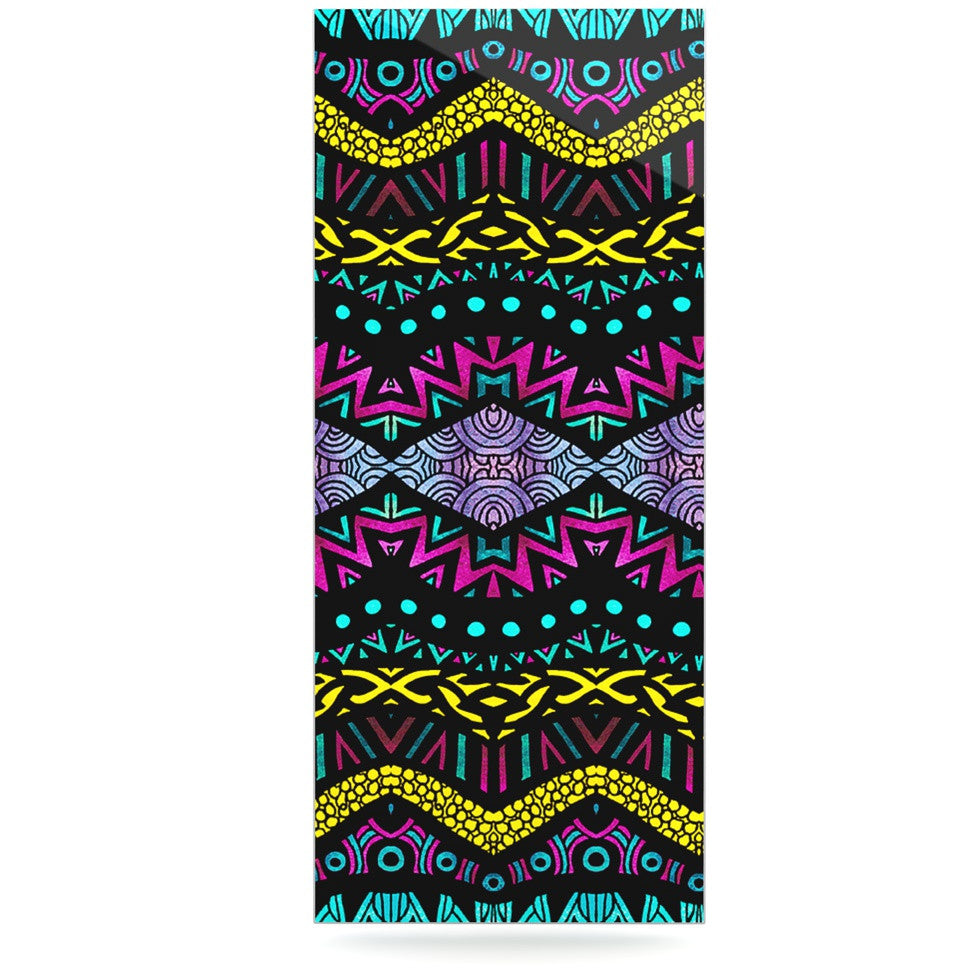 "Pom Graphic Design ""Tribal Dominance"" Luxe Rectangle Panel - KESS InHouse  - 1"