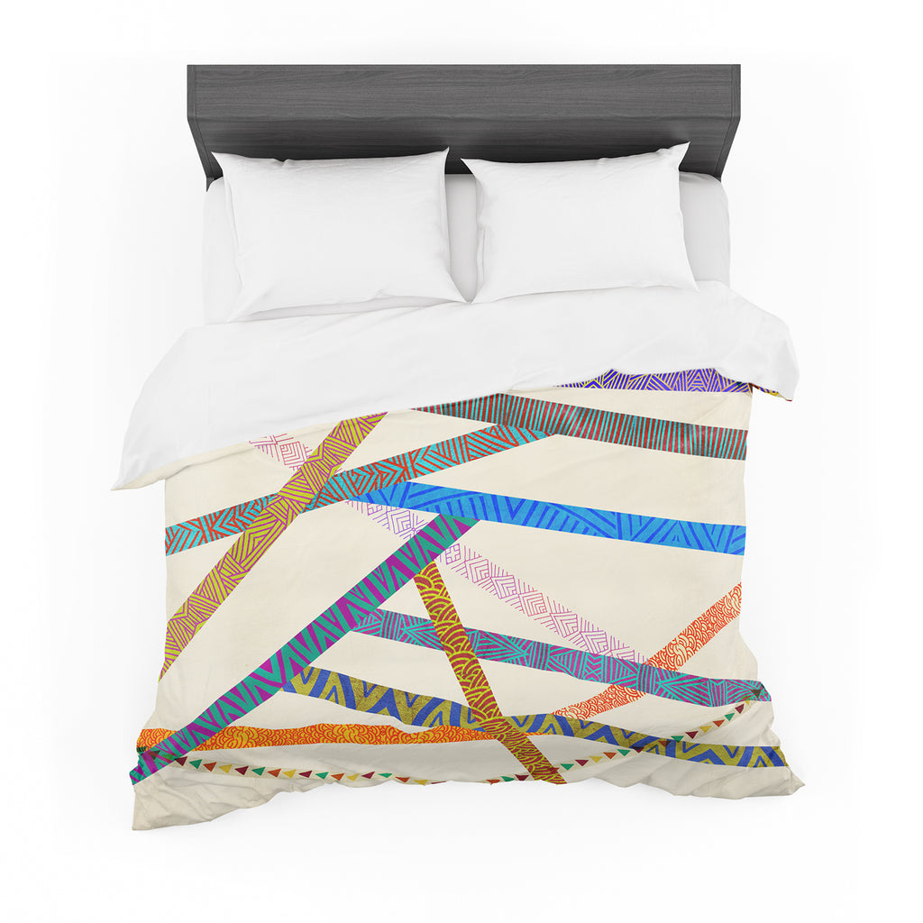 "Pom Graphic Design ""Unparalleled"" Cotton Duvet"