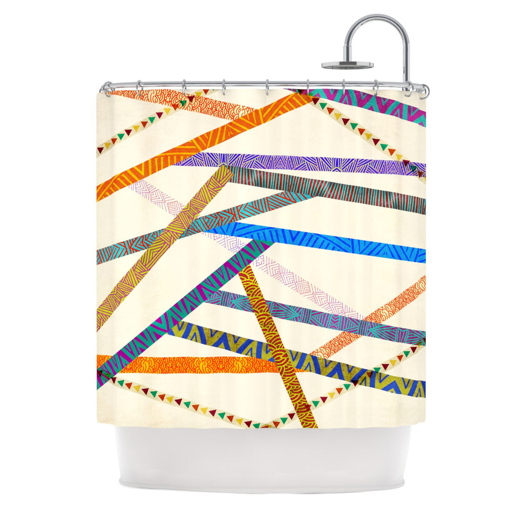 "Pom Graphic Design ""Unparalleled"" Shower Curtain - KESS InHouse"
