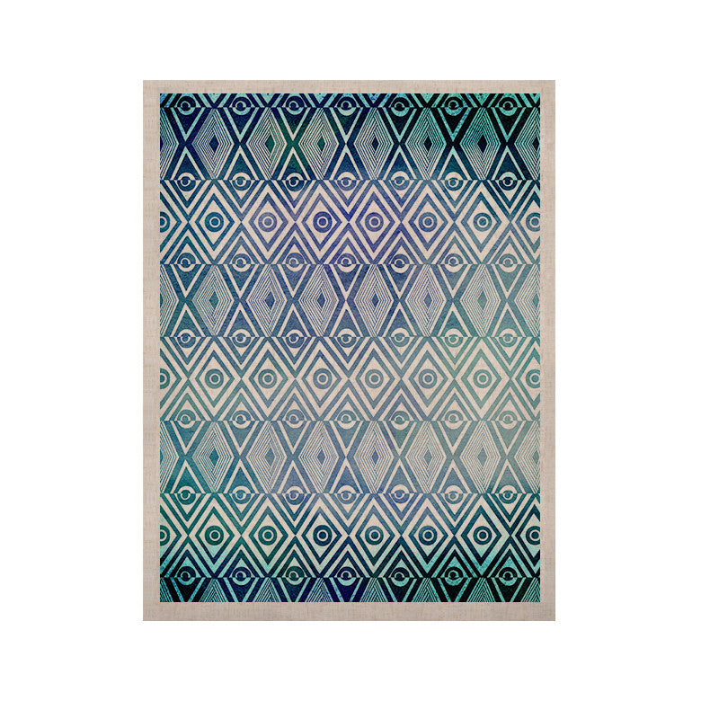 "Pom Graphic Design ""Tribal Empire"" KESS Naturals Canvas (Frame not Included) - KESS InHouse  - 1"