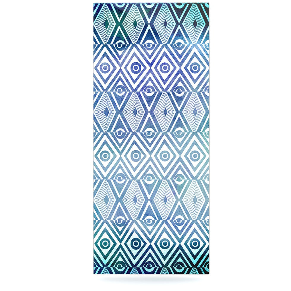 "Pom Graphic Design ""Tribal Empire"" Luxe Rectangle Panel - KESS InHouse  - 1"