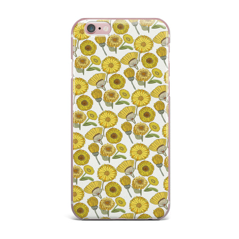 "Pom Graphic Design ""Calendula Flowers"" -Tags iPhone Case - KESS InHouse"
