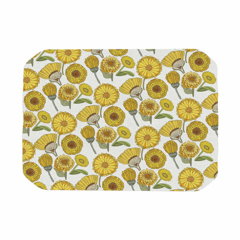 "Pom Graphic Design ""Calendula Flowers"" -Tags Place Mat - KESS InHouse"
