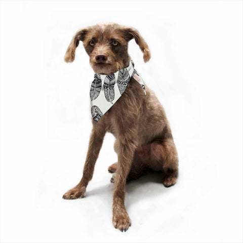 "Pom Graphic Design ""Wild Feathers""  Pet Bandana - Outlet Item"