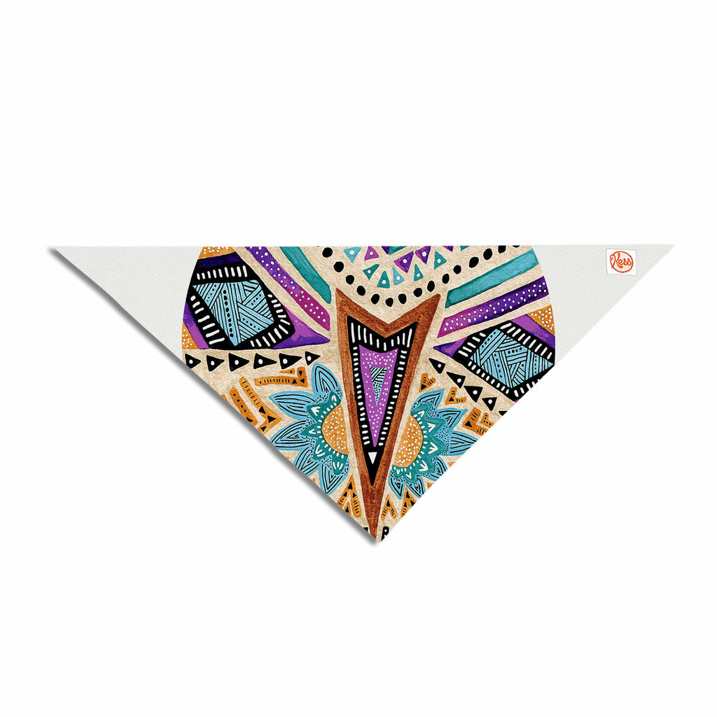 Multicultural Icon Pet Bandana By Pom Graphic Design | KESS InHouse