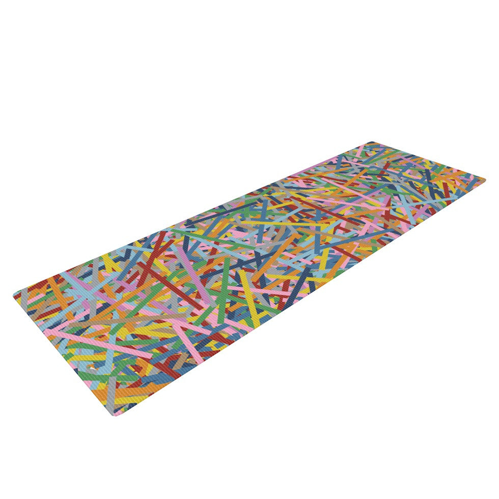 "Project M ""More Sprinkles"" Yoga Mat - KESS InHouse  - 1"