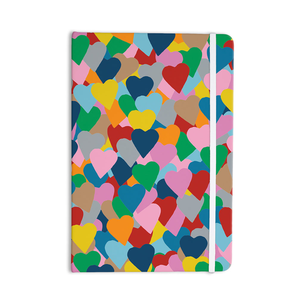 "Project M ""More Hearts"" Everything Notebook - KESS InHouse  - 1"