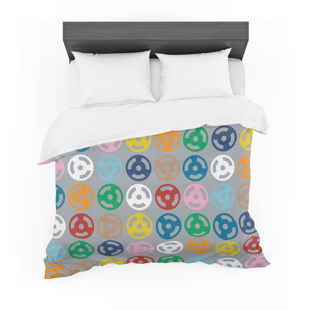 "Project M ""Roll with it on Grey"" Cotton Duvet"