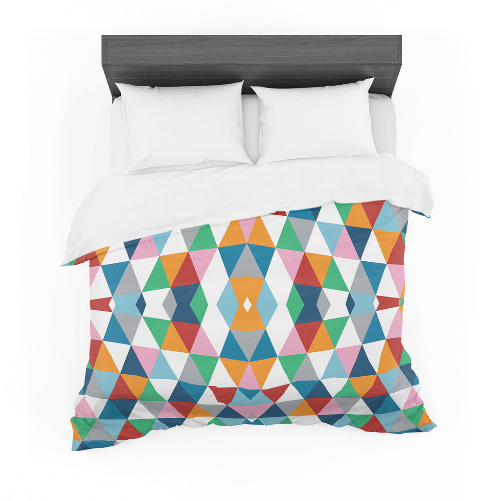"Project M ""Geometric"" Cotton Duvet"