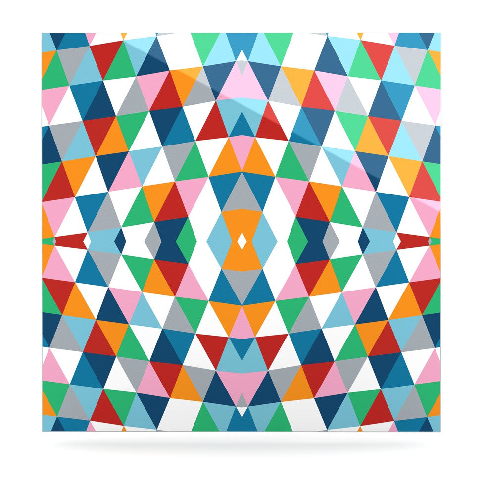 "Project M ""Geometric"" Luxe Square Panel - KESS InHouse  - 1"