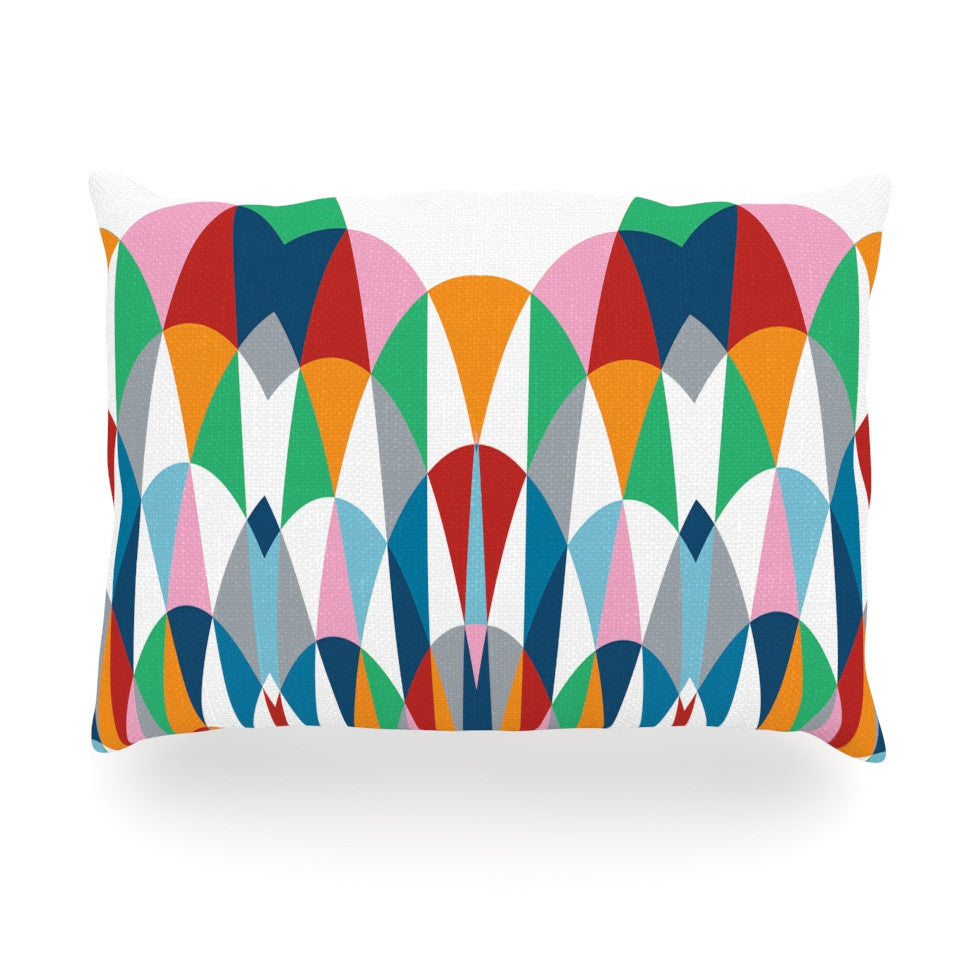 "Project M ""Modern Day Arches"" Oblong Pillow - KESS InHouse"