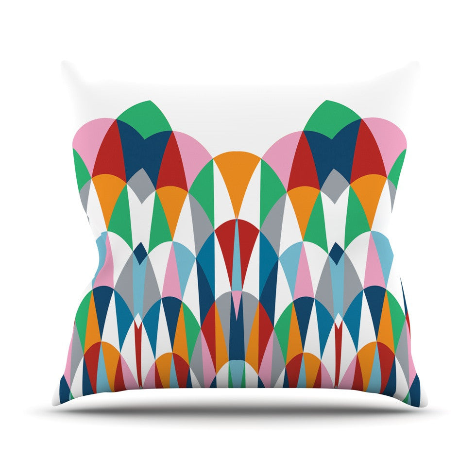 "Project M ""Modern Day Arches"" Throw Pillow - KESS InHouse  - 1"